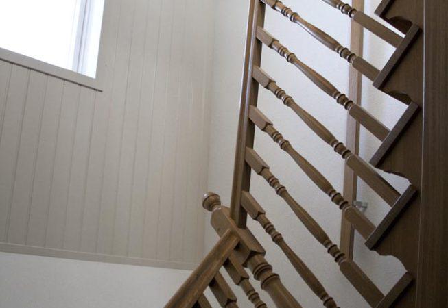 Eikenhouten trap