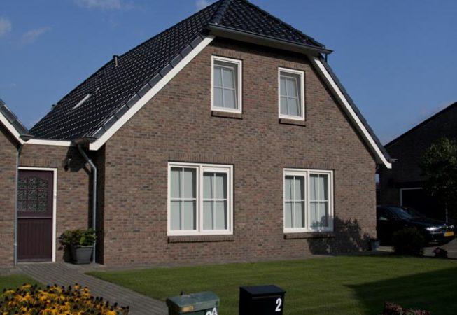 Verbouw woning te Luttenberg