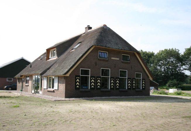gerestaureerde woonboerderij
