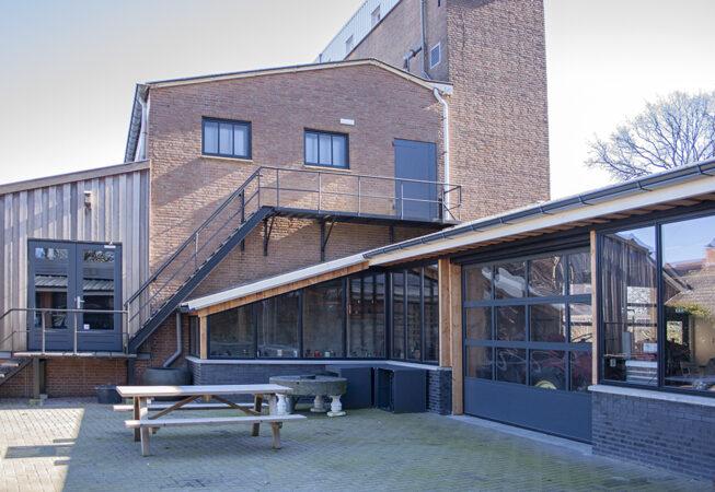 aanbouw museum de laarman